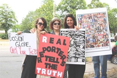 Over 140 Gather to Protest the Boston Globe's Spotlight on Mental Health Series